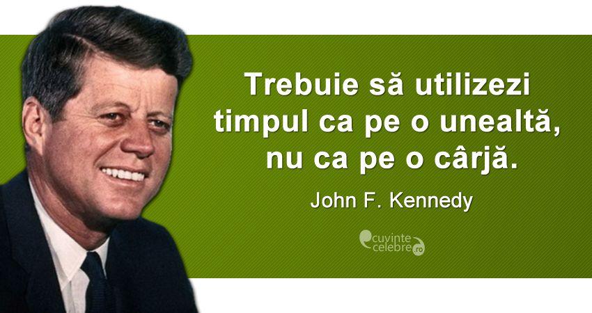 Citat John F. Kennedy