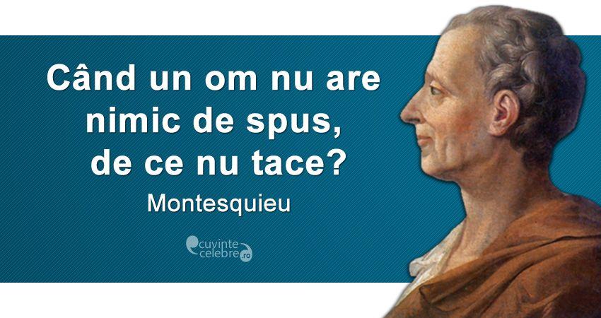 Citat Montesquieu