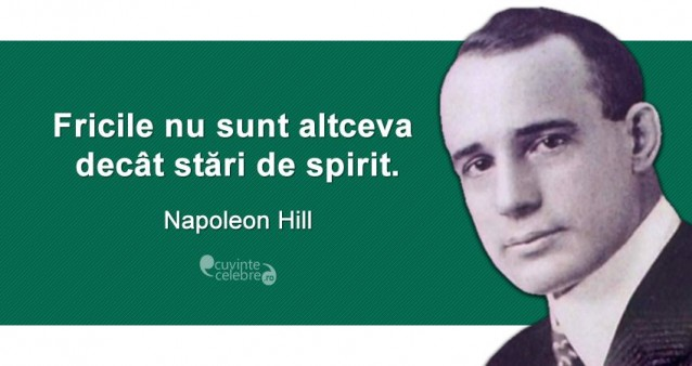 Citaten Napoleon : Stări de spirit citat napoleon hill