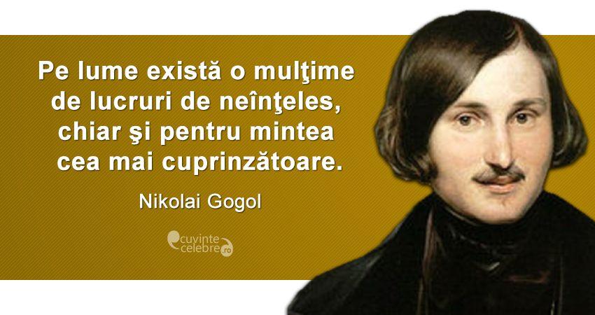 Citat Nikolai Gogol