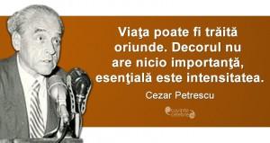 Citat Cezar Petrescu