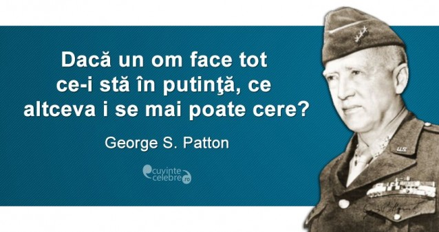 Citat George S Patton