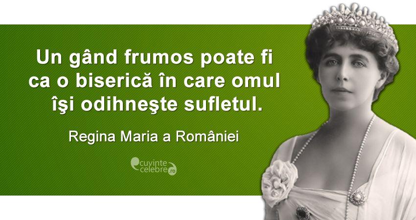 Citat Regina Maria