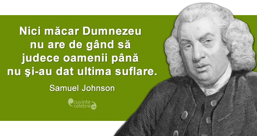 Citat Samuel Johnson