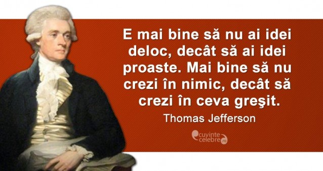 Citat Thomas Jefferson