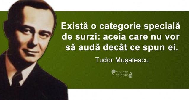 Citat Tudor Musatescu