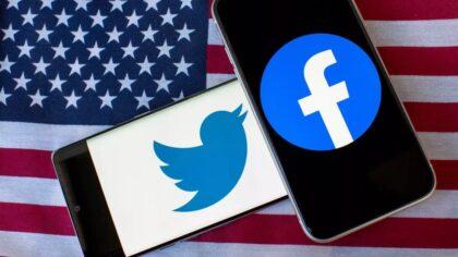 Directorii executivi Facebook si Twitter...