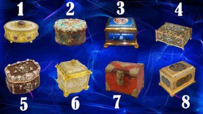 Alege o cutie din cele...