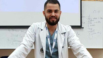 Vlad Marinescu, medicul rezident care...