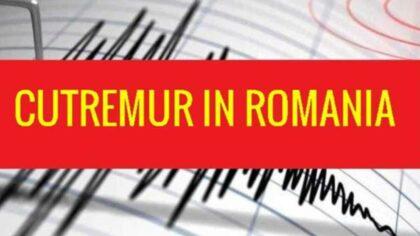 Un nou cutremur in Romania....